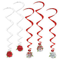 5 Alice In Wonderland Party Decoration Painting The Roses Red Rose Whirls