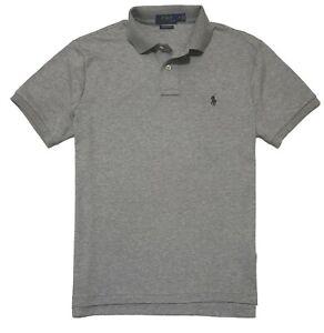 Details about Ralph Lauren Mens Polo Shirt Soft Touch Custom Slim Fit Pima Cotton SP