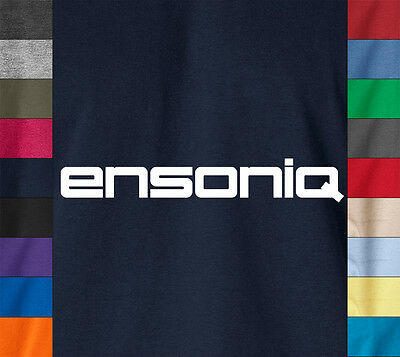 ENSONIQ T-Shirt Vintage Sampler Synthesizer ASR10 Synth EDM Electronic Music Tee