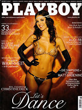 "Playboy 08/2007   ""Let´s Dance"" RTL-Tanzstar CHRISTINE DECK  August/2007"
