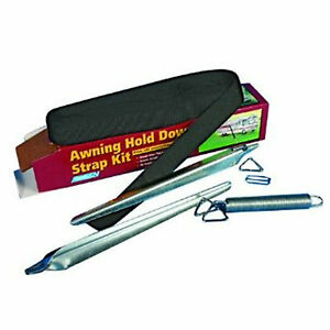 RV Awning Hold Down Strap Kit Camper Trailer Wind ...