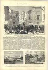 1873 Civil War In Spain Puerta De Carmona Seville Cadiz