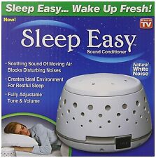 Sleep Easy Sound Conditioner White Noise Machine baby therapy, New