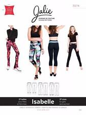 Jalie Isabelle Running Skate Leggings Pant Womens Sportswear Sewing Pattern 3674