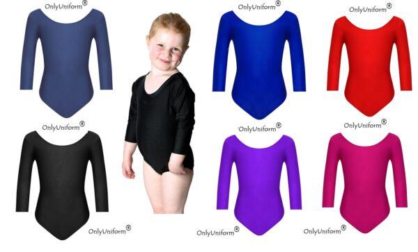 6641d73259eb Only Uniform Girls Ballet Dance School PE Game Gymnastics Leotard ...