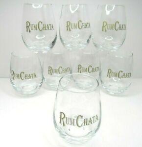 8-RumChata-4-034-Cocktail-Clear-Drink-Glasses-Caribbean-Rum-Horchata-Cream-Liqueur