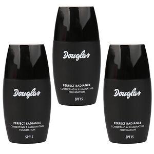 SET 3x Douglas Make-up Perfect Radiance Sen Veil MU0307 Foundation Teint 30 ml