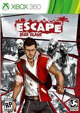 Xbox 360 Escape Dead Island Video Game action adventure horror zombie combat gun