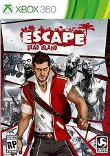 Xbox 360 Escape Dead Island Video Game action adventure horror zombie combat gun
