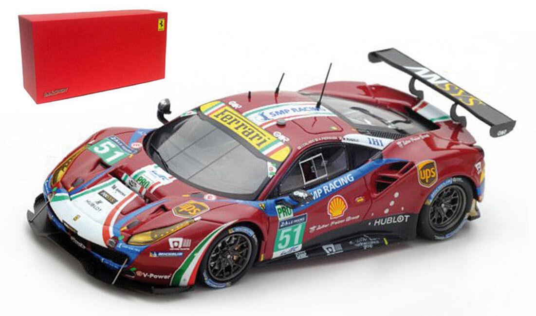 LOOKSMART FERRARI 488 GTE  51  AF Corse  Le Mans 2017-échelle 1 43