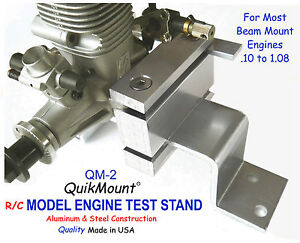 Rc Model Engines Test Stand Quikmount Qm2 For Most Beam