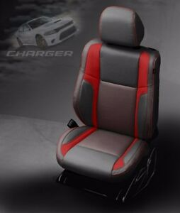 Awesome Details About 2019 Dodge Charger Sxt Rt Gt Custom Design Katzkin Leather Seat Kit New Red Forskolin Free Trial Chair Design Images Forskolin Free Trialorg