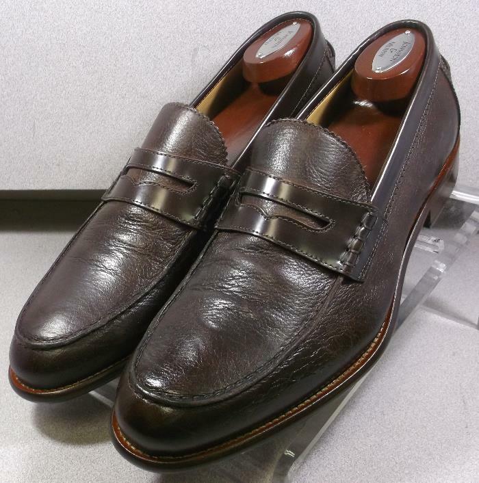 241310 wti60, talla 10 m, marrón, fabricado en Italia, para caminar Test Johnston Murphy
