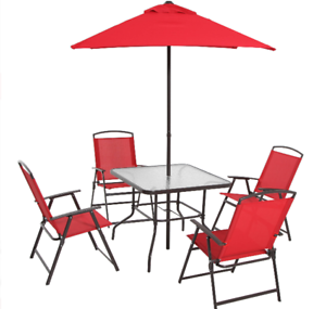 Outdoor Dining Sets For 6 With Umbrella