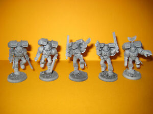 Warhammer-40k-Space-Marines-5x-Assault-Marines-Sturmtrupp