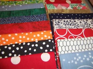 Stash-Building-Fat-Quarter-Bundle10-pcs-each-appx-18-034-x-22-034-great-scrappy-quilt