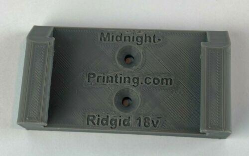 RIDGID Battery Mount Lithium-Ion Holder Clip 18v 18Volt Cover