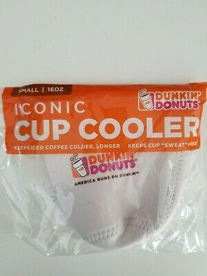Dunkin' Donuts Iconic Cup Cooler Koozie Size Small | eBay