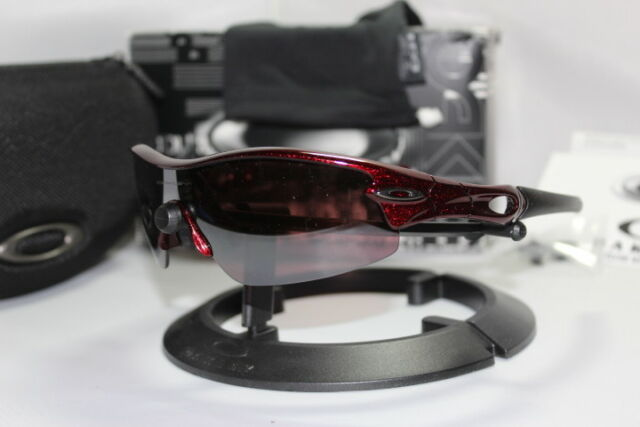 964389be110734 Oakley Asian Fit Radar Pitch Sunglasses - Metallic Red   G20 Black Iridium