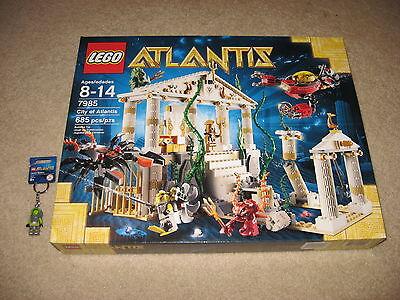LEGO Atlantis 7985 City of Atlantis BRAND NEW! + FREE Keychain Figure