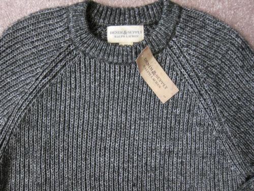 prijs sweater Premium grijs 145 zwart Raglan Ralph Heren Lauren katoenmix qUY8vntxw
