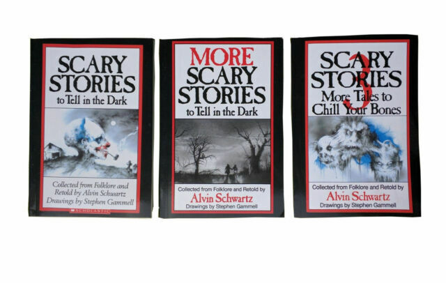 Scary Stories to Tell in the Dark Series by Alvin Schwartz (Paperback. 1981) for sale online | eBay