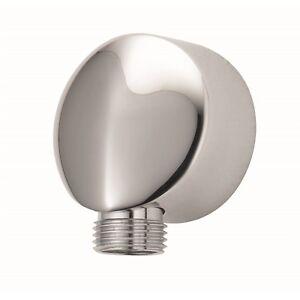 Flexispray-DESIGNER-EURO-BRASS-WALL-ELBOW-Tile-Protection-CHROME-Aust-Brand