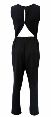 TWO COLOURS BY NEW FASHION DESIGN OPEN BACK BELTED WAIST JUMPSUIT