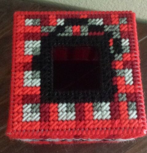 Handmade Finished Minecraft TNT Tissue Box Cover home decoration video game kids