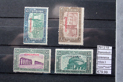 Briefmarken Italien Cyrenaica Miliz 3 Neu Mnh Hochwertige Materialien f97219