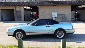 1990 Cadillac Allante blue