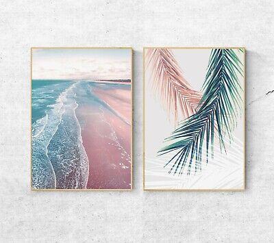 Sydney Surf Wall Print Sunset Surfing Home Decor A3 A2 Beach Ocean Fine Art