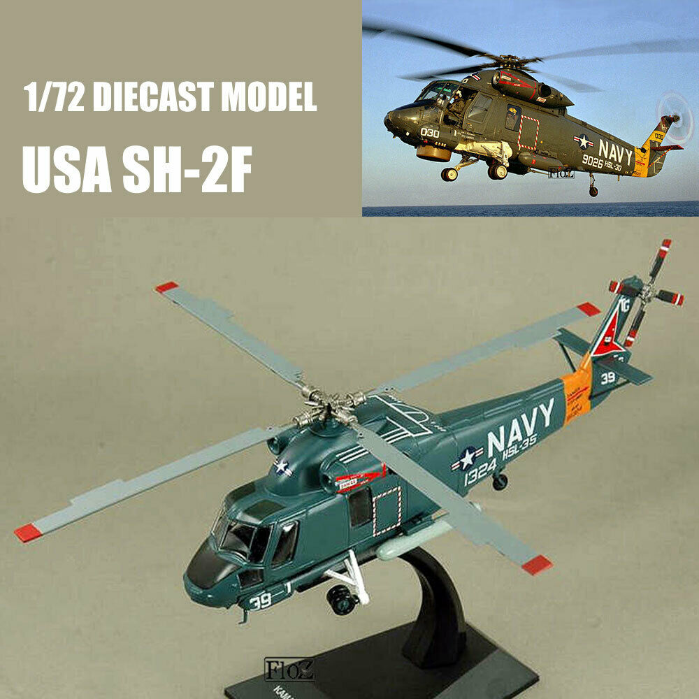 USA SH-2F 1 72 Diecast avioneta modelo de avión IXO