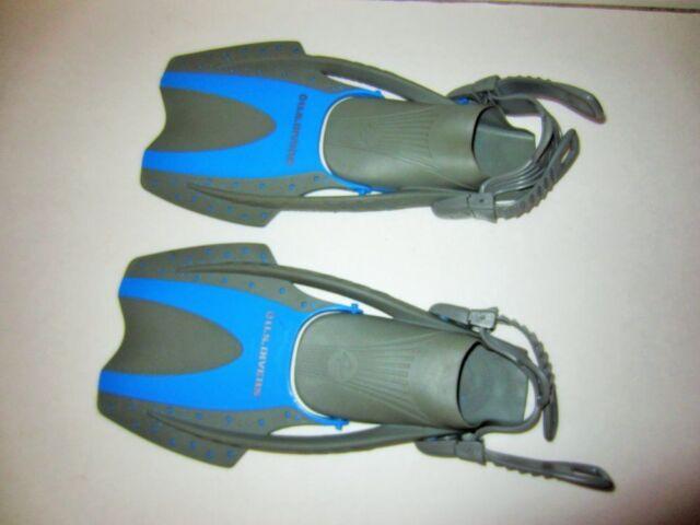 US Divers Swim Snorkel fins YOUTH SIZE 1-3 flexible fin ...