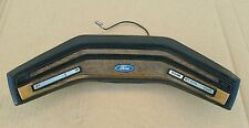 79 1986 Ford F150 f250 bronco woodgrain steering wheel horn button horn pad XLT