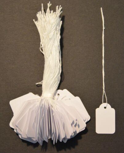 Hängeetiketten Kartonetiketten Preisschilder  Etiketten mit Faden zur  Wahl