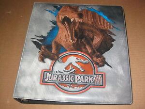 Jurassic-Park-3-Trading-Card-Binder-Album