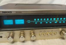 Nikko 5055 sinto amplificatore Made in Taiwan Audio Music Video