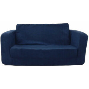 Modern Pull Out Sofa Bed Flip Chair Small Space Sleeper