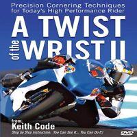 Twist Of The Wrist Dvd Ii By Keith Code California Superbike School Rider's Dvd