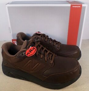new balance cuero marron
