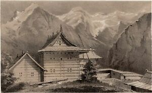 Himalaya-Landscape-Tchini-Gong-India-Alexei-Saltykov-Soltykoff-Lithography-19th