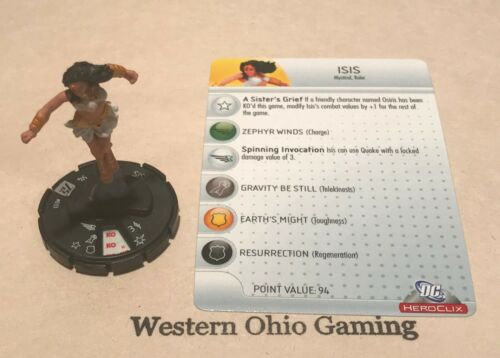 Heroclix Isis #033 USED DC 75th Anniversary Single Figure