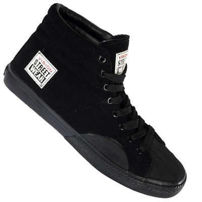 Vision Street Wear Leder Schuhe Suede Hi black Sneaker 41 42 43 45 46 47 neu