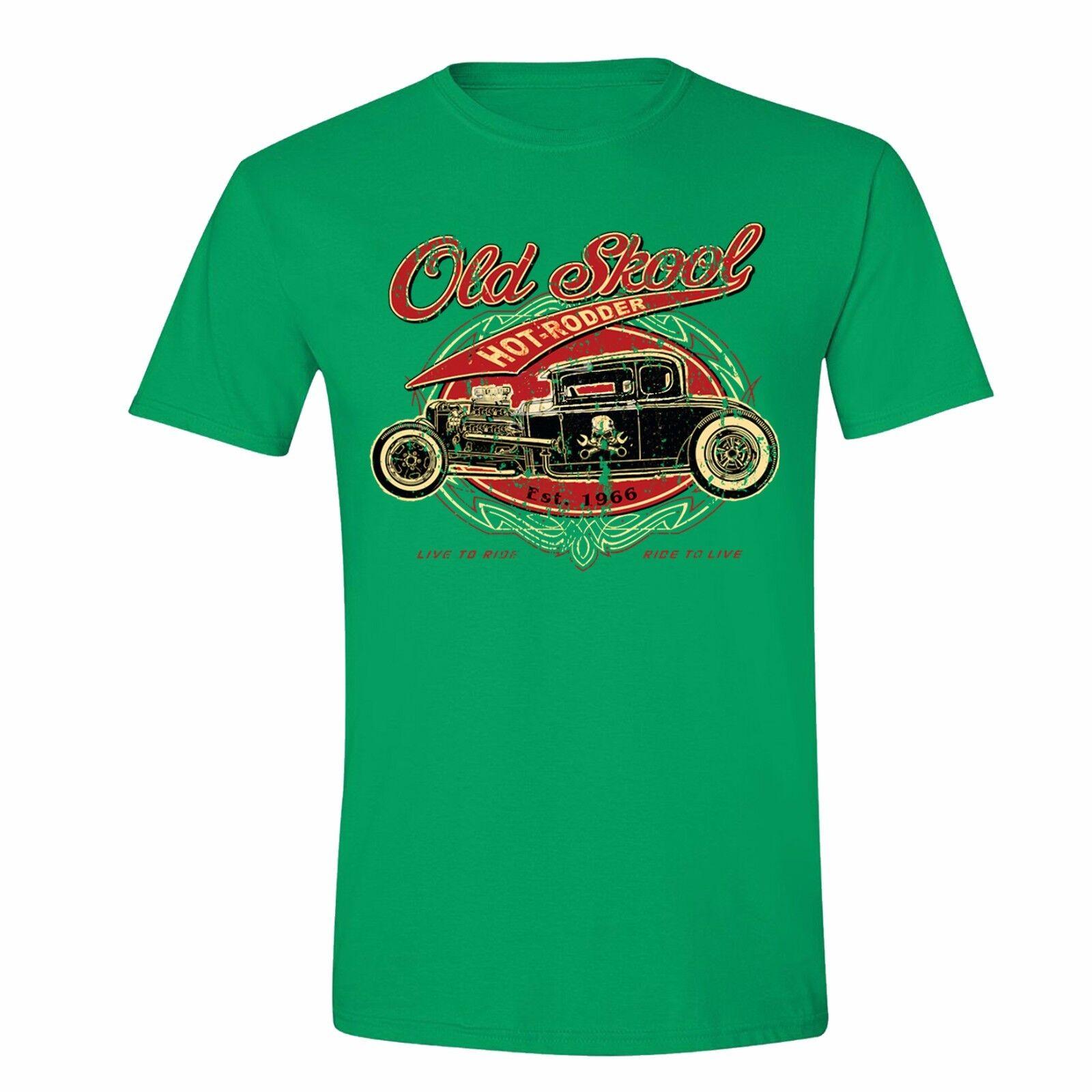 Old Skool school Tank Hot Roddder Shirt Vintage Car Hudson Flint Tank top Black