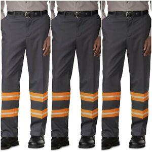 New Unifirst Soft Twill Standard Work Pants 40 x 32 O Tags Black W