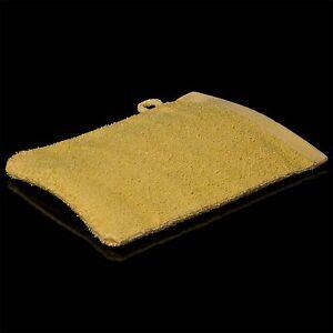 100-Waschlappen-380-g-qm-Waschhandschuh-Gelb-100-Baumwolle