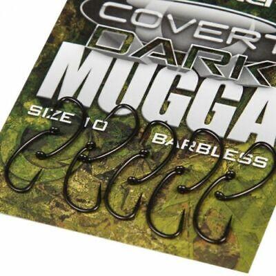 Full Range Carp Barbel Tench Coarse Fishing Gardner Tackle Covert Dark Hooks