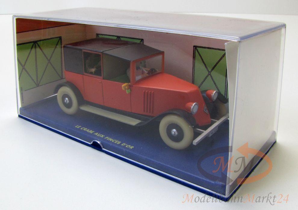 Terrae-moulinsart tintin tintin & milou le crabe aux pinces d or voiture miniature 1 43
