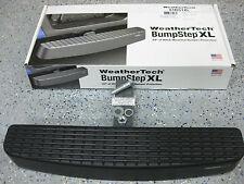 "WeatherTech 81BS1XL Bump Step Bumpstep Receiver Hitch Mount Plug 2"" Bumper Cargo"